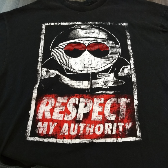 south park Other - SOUTH PARK T-SHIRT 👕 CARTMAN Respect My Authority